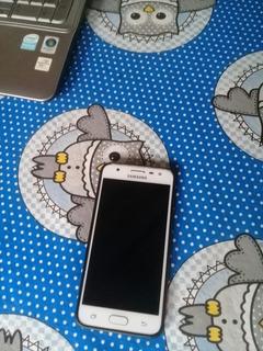 Samsung Galaxy J5 Prime 32gb Dual Chip Branco Com Dourado