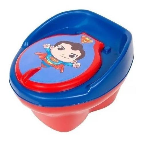 Troninho Pinico Infantil Personagem Super Homem - Styll Baby
