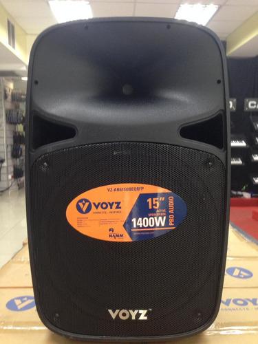 Bocina Voyz 15 Amplificada 1400w, Bluetooth, Usb, Fm, Sd