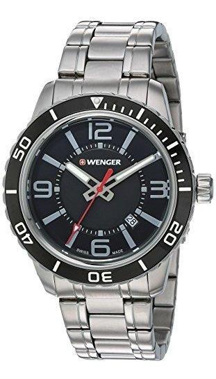 Wenger Roadster Reloj Casual De Cuarzo Suizo De Acero Inoxid