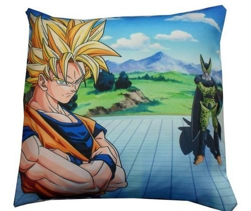 Almohadón De Anime Dragon Ball Z Goku Cell Supersayajin