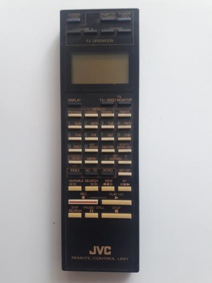 Controle Remoto Jvc Video K7 Original R6/aa/um-3
