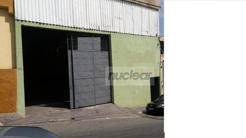 Galpão À Venda, 400 M² Por R$ 1.600.000 - Vila Nova York - São Paulo/sp - Ga0198