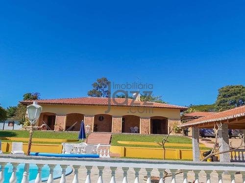 Aconchegante Chácara Com 5 Dormitórios, 2 Suites, À Venda, 3000 M² Por R$ 2.500.000 - Vale Das Laranjeiras - Indaiatuba/sp - Ch0309