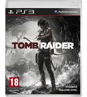 Tomb Raider - Mídia Física / Ps3