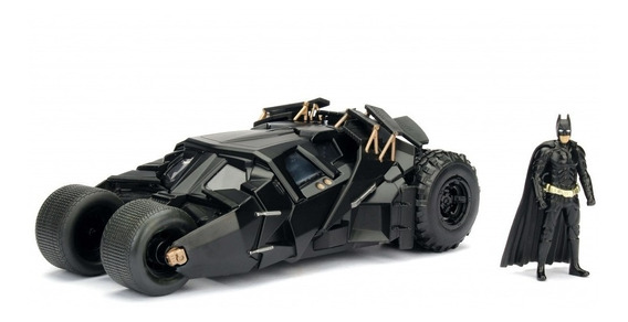 Batimovil Batman Dark Night Auto De Coleccion Con Figura