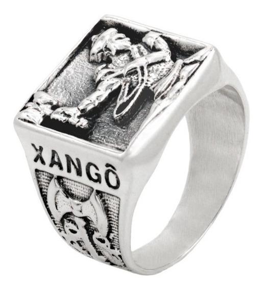 Anel De Xango Prata 925 R4983