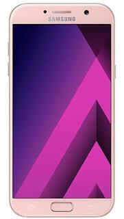 Samsung Galaxy A7 2017 Rosa Usado Mt Bom C/ Nf