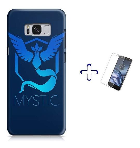 Kit Capa Galaxy S8 Pokemon Team Mystic+pel.vidro (bd01)