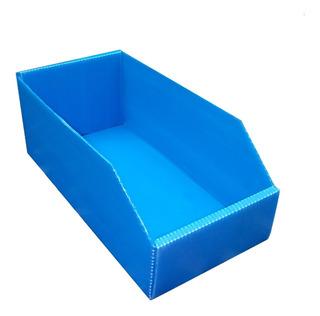 Caja Plastica Corrugado Gaveta Organizador (30x15x11) Pack X 20 Me