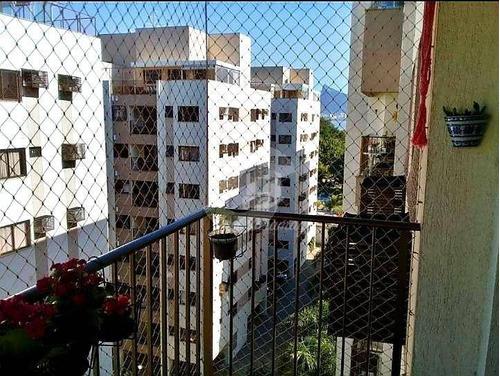 Cobertura Com 3 Dormitórios, 1 Suíte,  E Lazer Privilegiado E Completo, À Venda, 125 M² Por R$ 950.000 - Gragoatá - Niterói/rj - Co0053