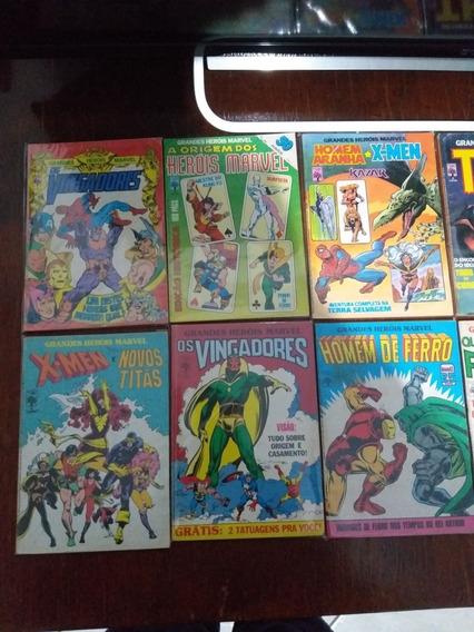 Grandes Heróis Marvel- Coleção Completa.