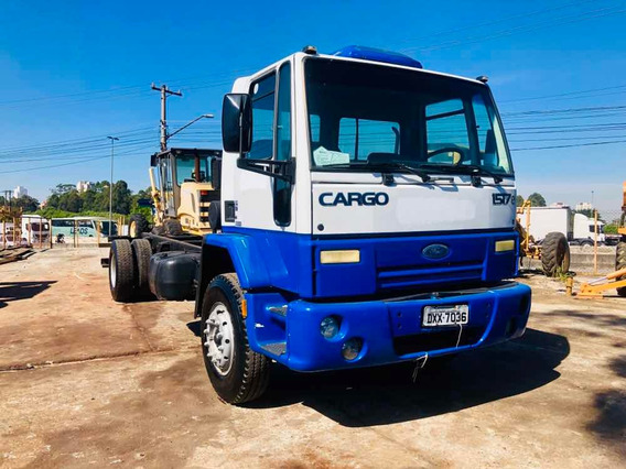 Ford Cargo 1517e Ano 2008 4x2 Bx Km