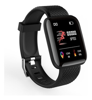 Smartwatch Relogio Smartband D13 Preto Android Ios