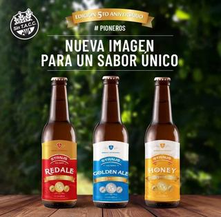 Cerveza Sin Gluten Straus X 6 Botellas Surtidas Sin Tacc