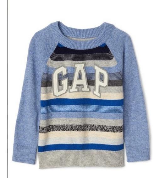 Sueter Gap Infantil Menino Blusa Frio Linha Sweater 4 Anos