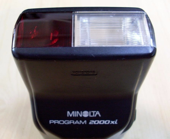 Flash Minolta Program 2000xi
