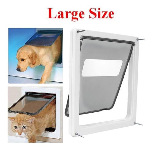 Imagen 1 de 5 de Puerta De Perro De Bloqueo De 2 Vías Para Mascotas Trixie Pr