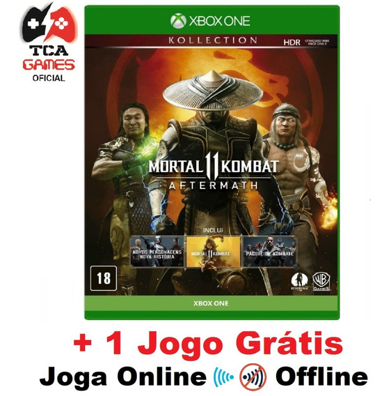 Mortal Kombat 11 Aftermath Kollection Xbox One Mídia Digital