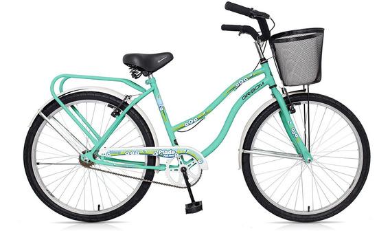Bicicleta Gribom R26 3500 Prado Full Dama Verde Ag