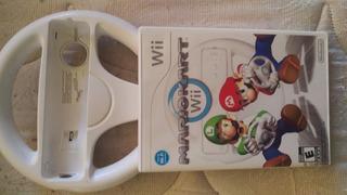 Juego Mario Kart Para Wii + Volante