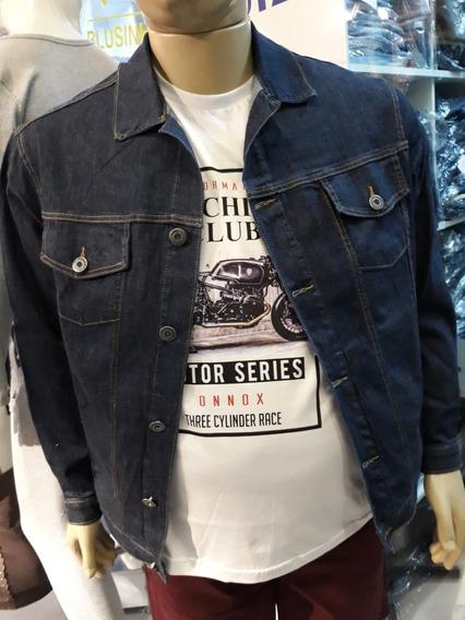 Jaqueta Jeans Masculina Tamanho Grande Xp Xm Xg G1 G2 G3 G4