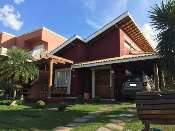 Casa Para Venda No Condomínio Terras De Atibaia I Em Atibaia - Ca34