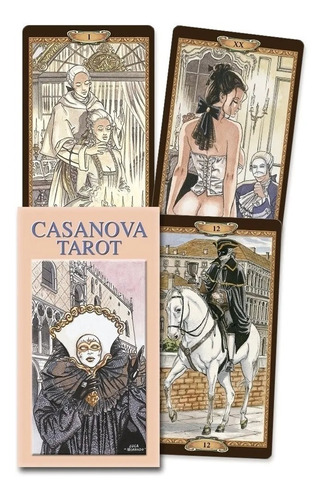 Imagen 1 de 5 de Casanova Tarot, Con Folleto Multilingue