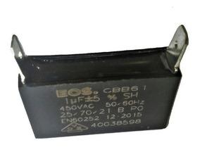 Capacitor 1uf 450vac Ar Condicionado E Uso Geral - 10 Peças