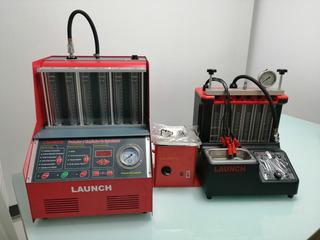 Máquina De Limpieza Y Comprobación De Inyectores Launch