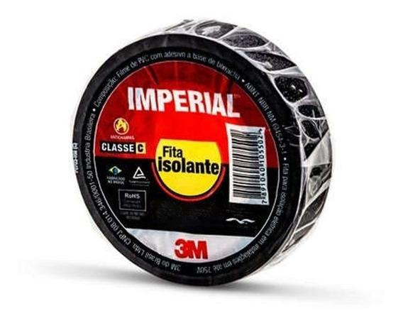 Fita Isolante Imperial 18mm X 10m X 0.13mm Para Cabos 750v 3