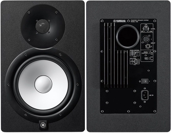 Monitor De Referência Yamaha Hs8 Preto
