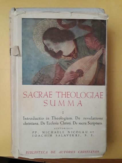 Sacrae Theologiae Summa I Introductio In Theologiam (bac)