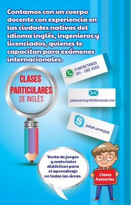 Clases Particulares De Inglés Asesoría Tareas Y Juegos Didác