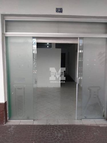 Salão Para Alugar, 120 M² Por R$ 3.500,02/mês - Macedo - Guarulhos/sp - Sl0064