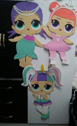 Figuras Goma Eva Gigante Lol Surprise Mayores De 60 80cm Mercado Libre