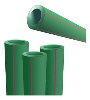 Caño Tubo Termofusión 20mm 1/2 Agua Potable Fría Caliente