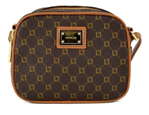 Bolsa Mini Bag Monograma Em Couro Luz Da Lua Cohiba - 1012
