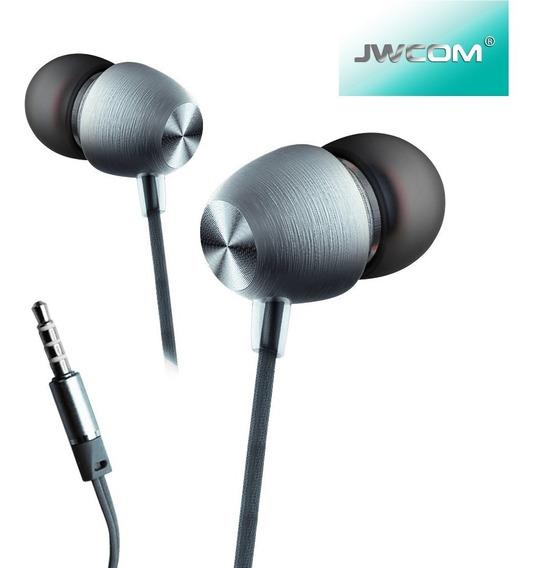 Fone Ouvido Original Jwcom Ep726 Alumínio Graves Puros!