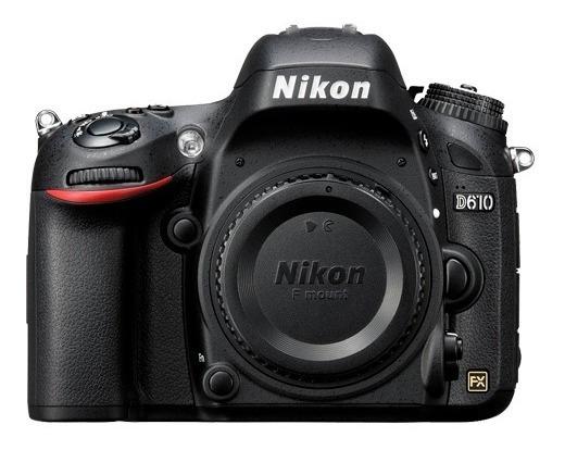 Câmera Nikon D610 Somente Corpo Nf-e E Garantia 1 Ano