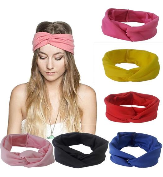 Kit 3 Headband Modelo Faixa De Cabelo Varias Cores Lindas