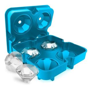 Molde De Silicón Diamante - Hielo Cocina Repostería Bebidas