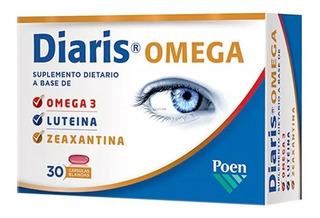 Diaris Omega Suplemento Dietario 30 Cápsulas Luteína Omega 3