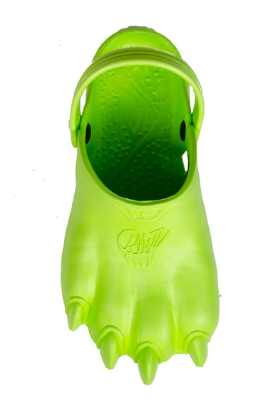 Novo - Chinelo Infantil - Classic Clawz - Verde