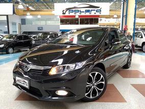 Honda Civic Lxl 1.8 Flex Automático C/ Dvd Completo 2012