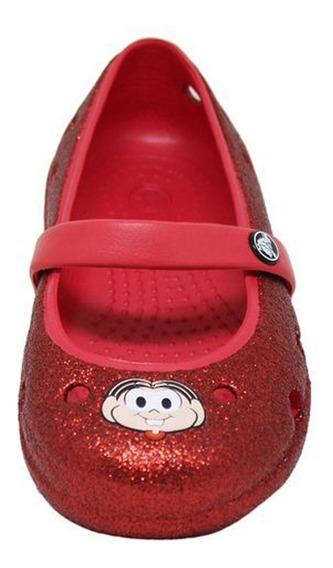 Sapatilha Vermelha Crocs Monica Original Promocao
