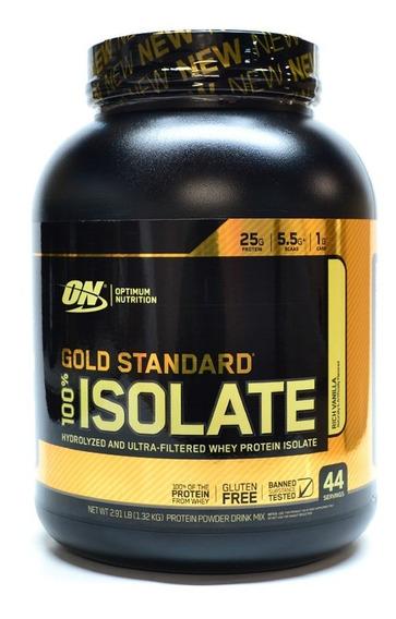 Proteina Gold Standard Isolate Sabor Vainilla 2.91lb