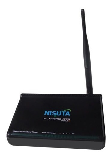 Router Wifi Inalambrico Nisuta Ns-wir150nf Antena 5 Dbi