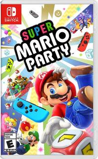 Super Mario Party Nintendo Switch Nuevo Sellado En Español