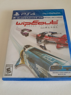 Wipeout Omega Collection Ps4 Nuevo Fisico Sellado
